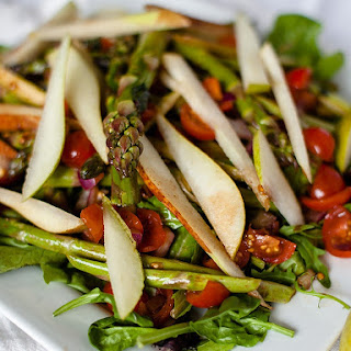 Asparagus and Pear Salad