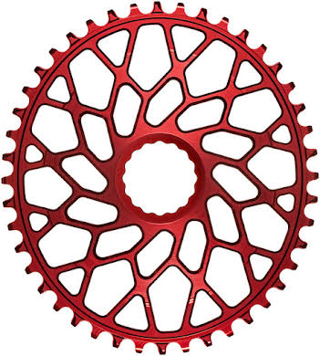 Absolute Black Oval Narrow-Wide Direct Mount Chainring - CINCH Direct Mount, 3mm Offset alternate image 1