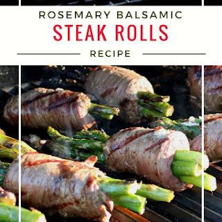 Rosemary Balsamic Vegetable Steak Rolls.