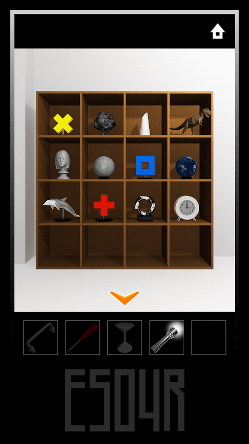 ES04R - room escape game -- screenshot