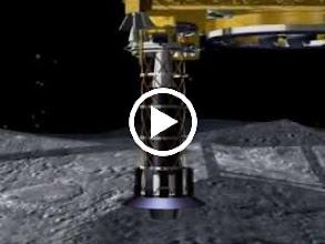 Video: ยานฮายาบูสะลงสำรวจดาวเคราะห์น้อยอิโตกาวา (11.5 MB)