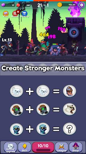 Merge Mon - Idle Puzzle RPG  captures d'écran 2