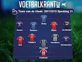 Brugge, Charleroi, Antwerp en Anderlecht domineren laatste Team van de Week