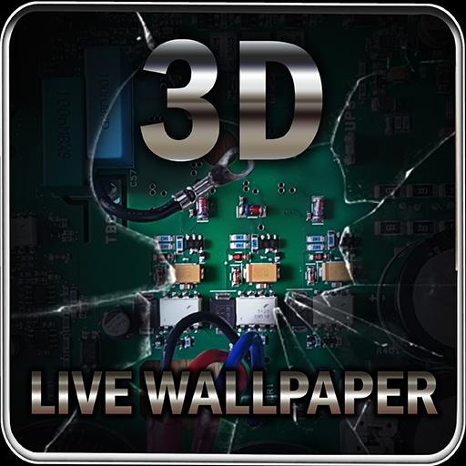 64+ Wallpaper Kaca Hp Pecah 3d HD