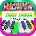 ZIGGY ZAGGA , ASHIAP Piano Tiles icon
