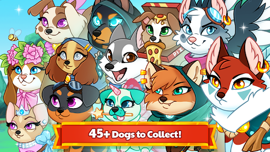 Dungeon Dogs – Idle RPG Mod Apk 2.1.1 (Free Shopping) 4