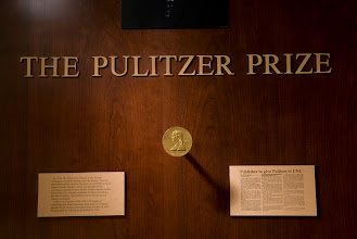 Photo: Pulitzer Prize awarded to the Tabor City Tribune in 1953 (Photo by Steve Exum)