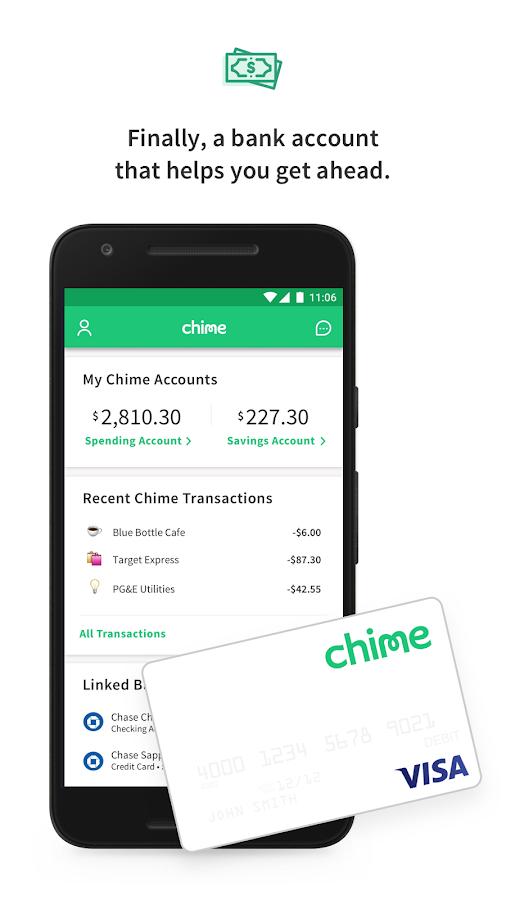 chime bank account setup
