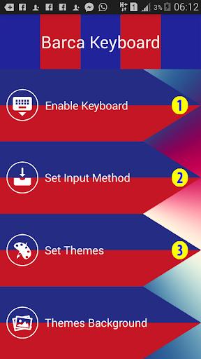Barcelona Keyboard Icon