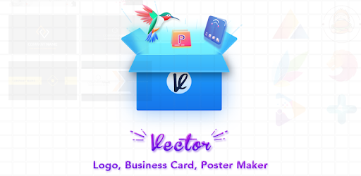 vector poster maker logo and business card maker google play の