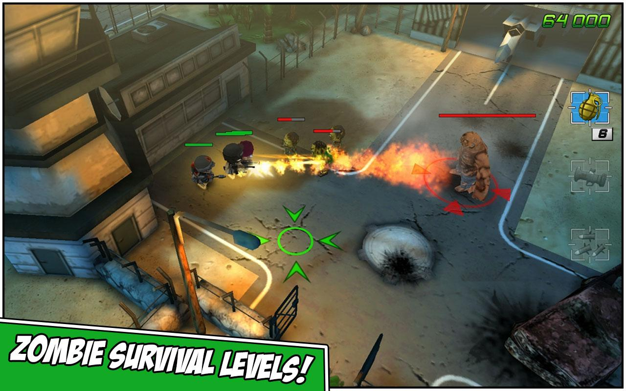 Screenshots of Tiny Troopers 2: Special Ops for iPhone