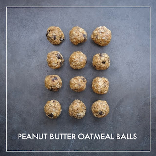 Peanut Butter Oatmeal Balls Recipe