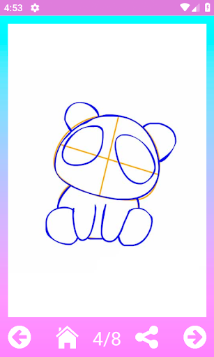 How to draw cute animals step by step 1.5 screenshots 3