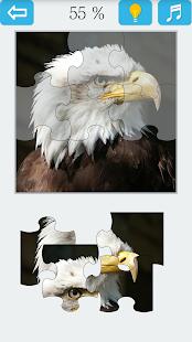 Jigsaw Puzzle: Bird - náhled