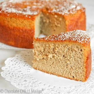 Flourless Mango Cake.