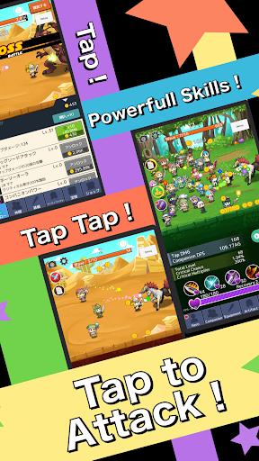 Tap Heroes! Tap Tap Game! 4.8 Mod screenshots 1