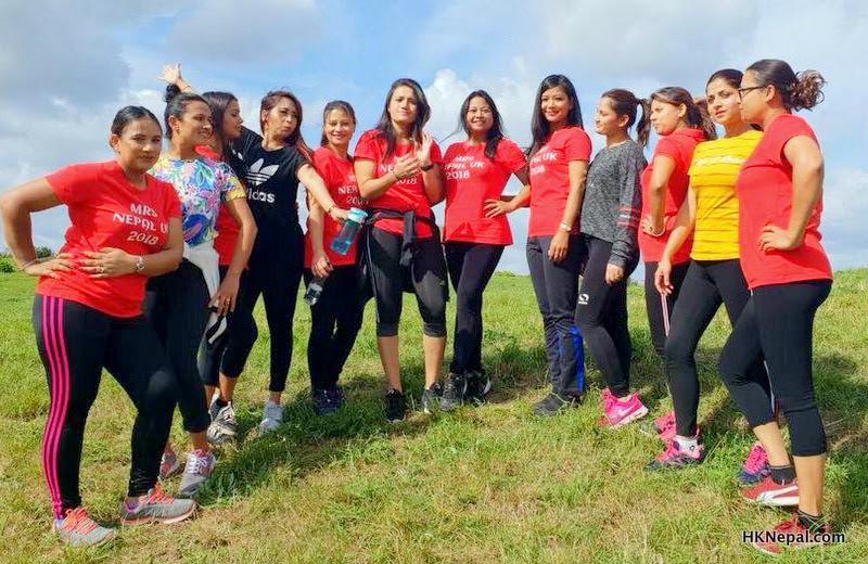 यसरी हुंदैछ- मिसेज नेपाल युके प्रतिस्पर्धाको तयारी