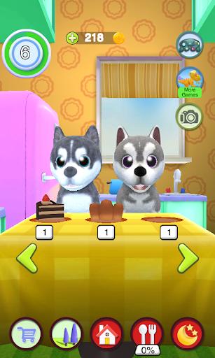 Talking Husky Dog apkdebit screenshots 7