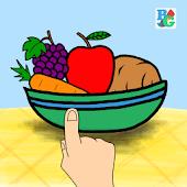 Buku Gambar Fruit & Vegetable