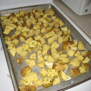 Crispy (Baked!) Homefries