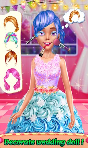 Wedding Doll Cake Decorating 3.3 screenshots 18