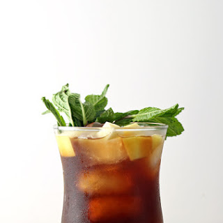 Apple Mint Iced Tea Cocktail