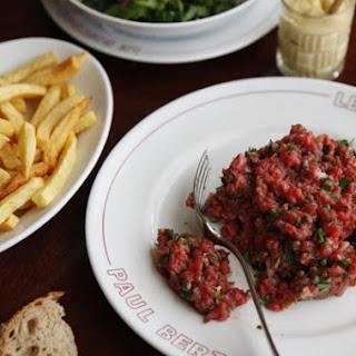Tartare de Filet de Boeuf (Steak Tartare).