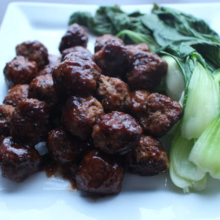 Niku-dango (Japanese Meatballs) with Sweet and Sour Sauce