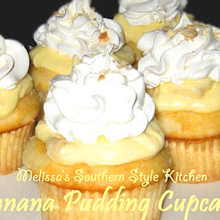 Banana Pudding Cupcakes.