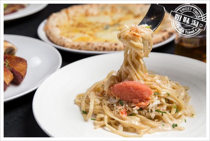 波特廚房明太子松葉蟹肉義大利麵