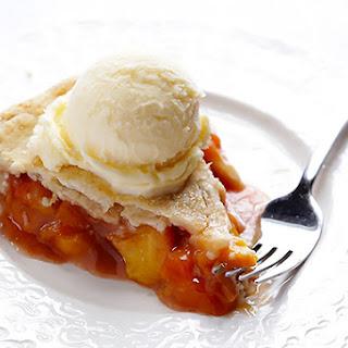 Peach Bourbon Pie