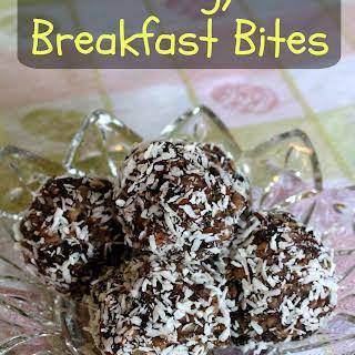 Energy Breakfast Bites.