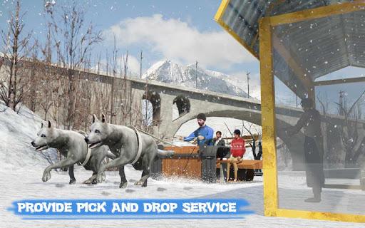 Snow Dog Sledding Transport Games: Winter Sports 1.4 screenshots 6