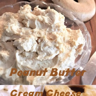 Peanut Butter Cream Cheese Spread.