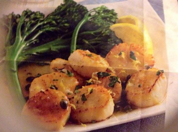 Scallops With Lemon Recipe