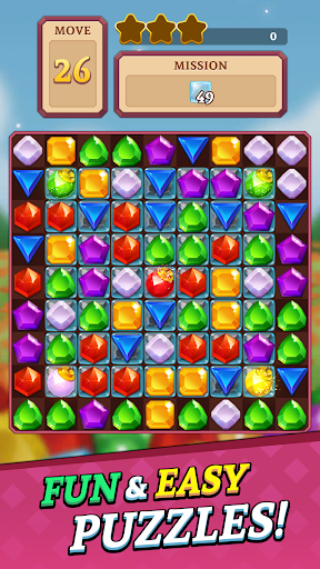 Jewels and Gems Blast: Fun Match 3 Puzzle Game android2mod screenshots 1