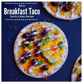 Spicy Breakfast Taco (Quick and Easy Recipe) Recipe