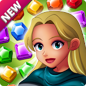 Jewels Palace : Fantastic Match 3 adventure icon