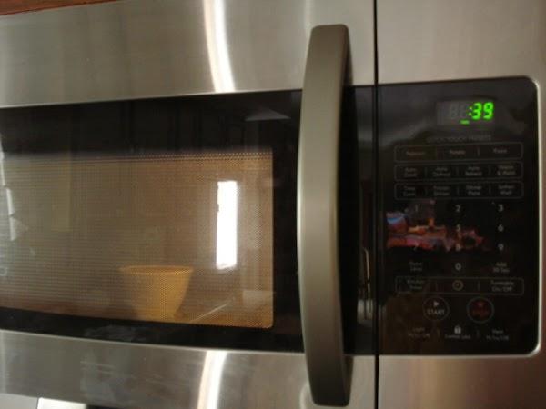 Microwave 1 minute.