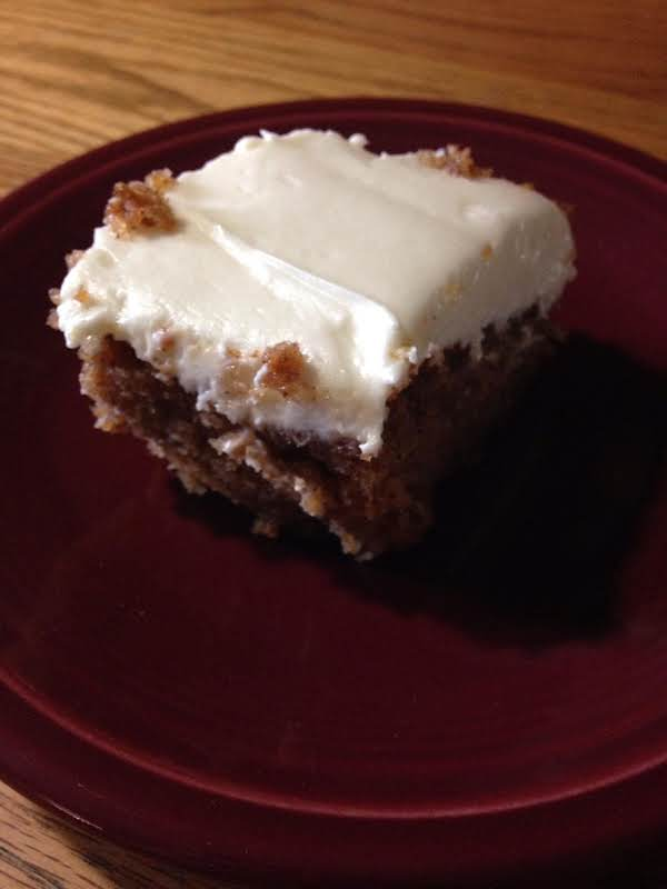 Not So Traditional Carrot Cake
