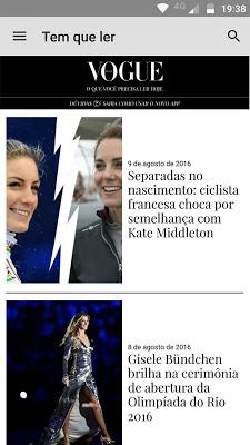 Vogue Brasil - screenshot