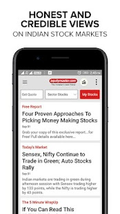 Independent Stock Market Research App India - náhled