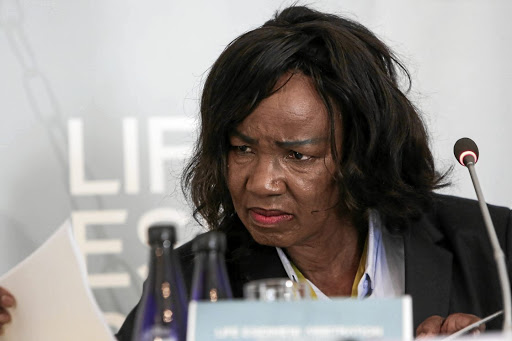 Traumatised people: Former Gauteng director of mental health Dr Makgabo Manamela testifies at the Life Esidimeni arbitration hearings in Parktown, Johannesburg in 2017. Psychologists who spoke at a recent conference concluded that it is time the country dealt with pre-and postapartheid transgenerational trauma. Alaister Russell