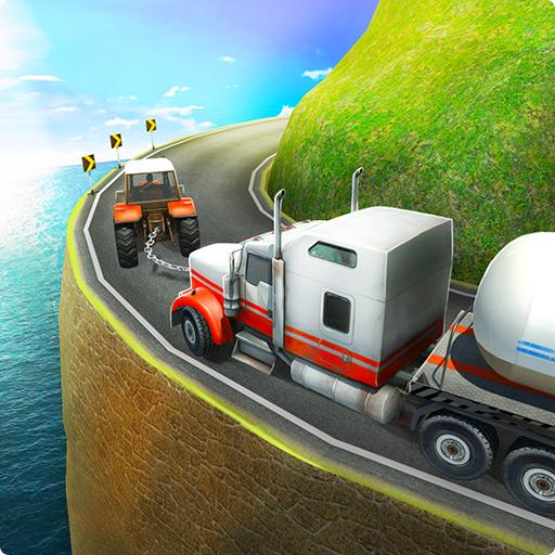 Chained Tractor Offroad : Pull Hill Climb Driving (game)