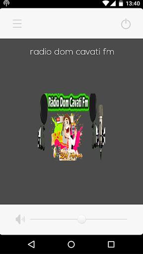 Rádio Dom Cavati FM screenshot 1