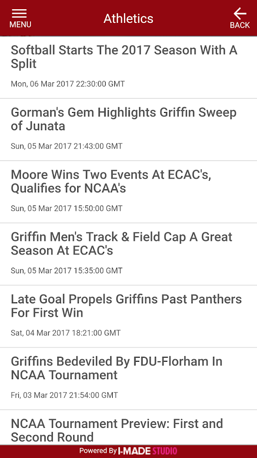 GMercyU Mobile- screenshot