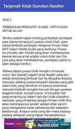 Terjemah Kitab Durratun Nasihin Pdf