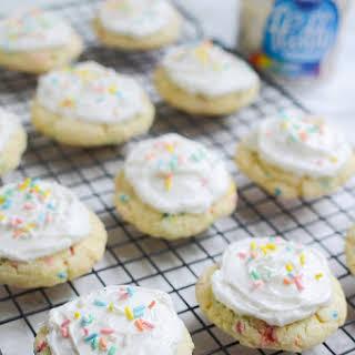 Funfetti Cake Mix Cookies.