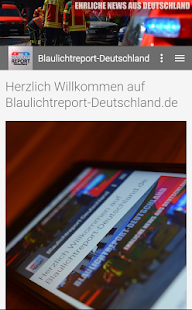 Blaulichtreport-Deutschland- screenshot thumbnail