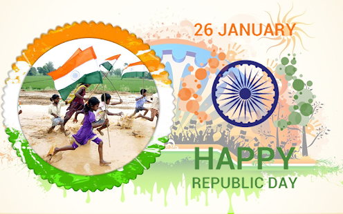 Republic Day - Indian PhotoFrames 2018 - náhled